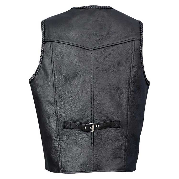 Leather vests for sale nz tax reduction options retirement vesting